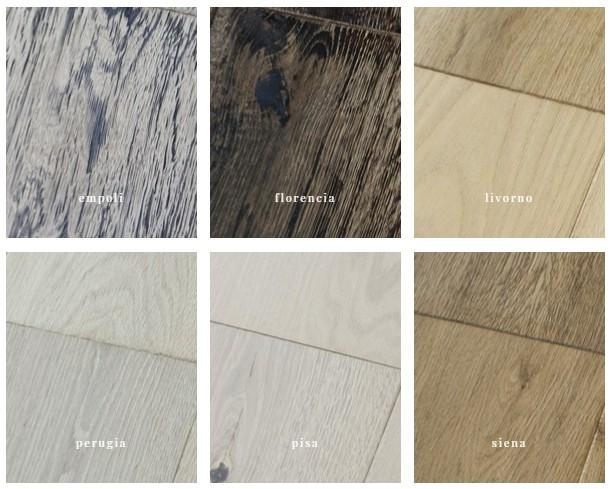 podłogi z drewna litego olejowane i starzone