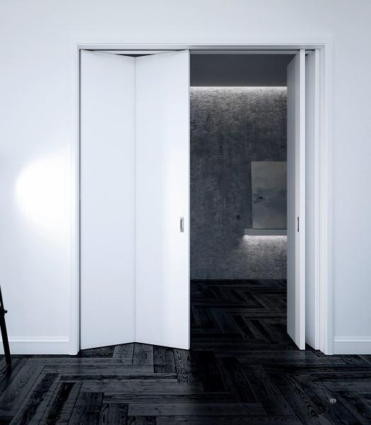 drzwi przesuwne składane