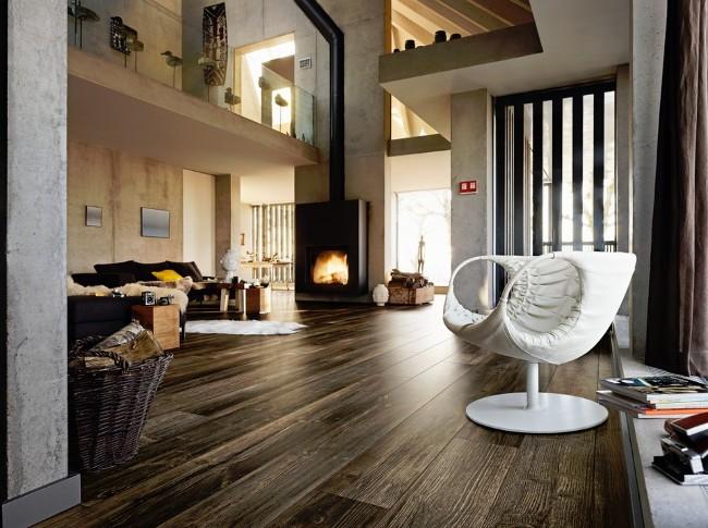 ciemna podłoga drewniana Meister
