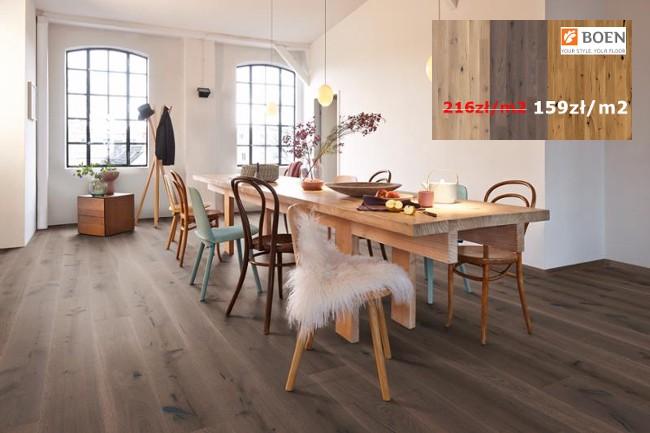 Mega promocja podłóg drewnianeych marki Boen
