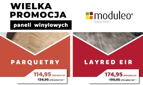 panele winylowe MODULEO w promocyjnej cenie