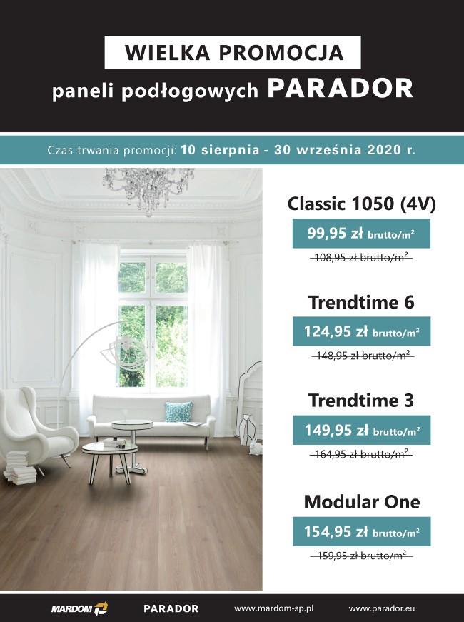 podłogi laminowane PARADOR