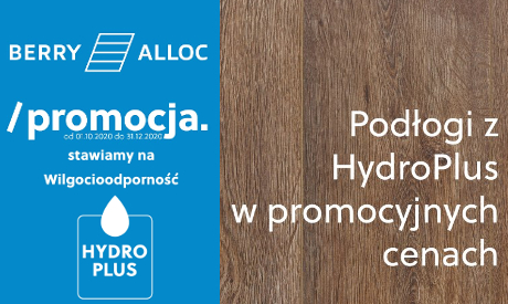 podłogi berry alloc z hydro plus