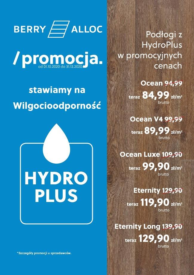 podłogi berry alloc z hydro plus