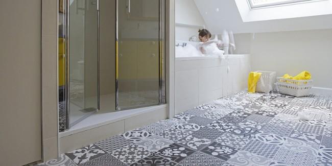 podłogi do łazienki