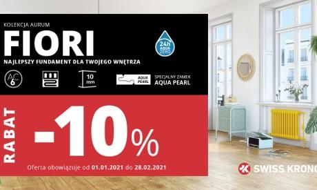 Promocja SWISS KRONO FIORI z rabatem 10%