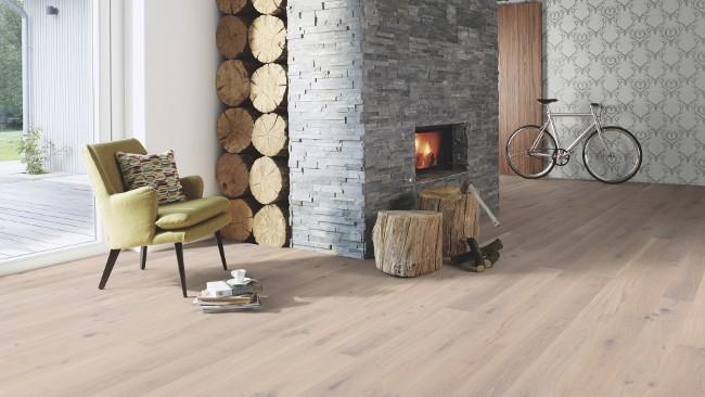 Podłoga drewniana Boen Pale white