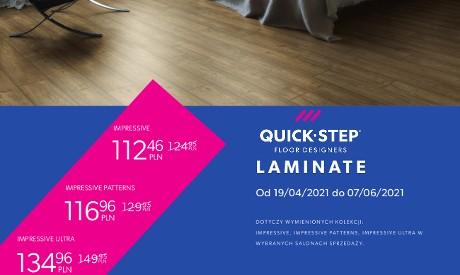 Promocja podłóg laminowanych Quick-Step