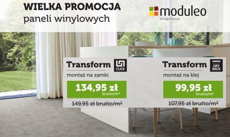 Wielka promocja paneli winylowych MODULEO
